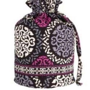 Vera Bradley Canterberry Magenta ditty bag